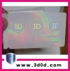comprehensive Anticounterfeiting adhesive label