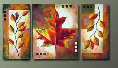Fashion handmade abstract oil painting frameless OIL0074