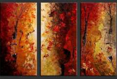 Fashion handmade abstract oil painting frameless OIL0146