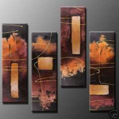 Fashion handmade abstract oil painting frameless OIL0013