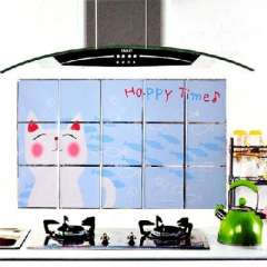Korean high-grade aluminum foil oil sticker / aluminum foil wall stickers - kitten