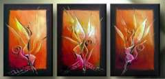 Fashion handmade abstract oil painting frameless OIL0073