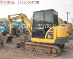 Beijing in August to sell 10 new Komatsu PC56-7 hydraulic excavator, used Liugong 50 forklifts