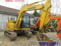 Hefei sale 10 August into a new Komatsu PC70-8 hydraulic excavator, used Liugong 50 forklifts