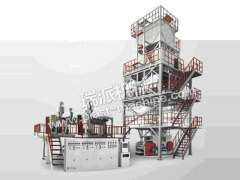 THREE TO FIVE LAYER POF SHRINK FILM EXTRUSION LINE | Plastic Extruder
