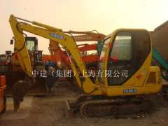 Hegang used temporary workers 20 forklifts, 10 sold in August to a new hydraulic excavator Yuchai YC45-6