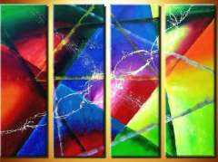 Fashion handmade abstract oil painting frameless OIL0104