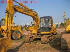 Xiamen sale 10 years into a new 8 Liugong 915D hydraulic excavator, used temporary workers 20 forklifts