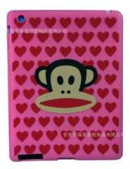 Supply of mobile phone sets of silicone mouth monkey, monkey mouth iphone4G phone protection cover