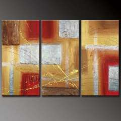 Fashion handmade abstract oil painting frameless OIL0039