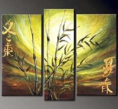 Fashion handmade abstract oil painting frameless OIL0069