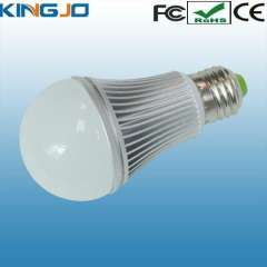Dimmable 5W LED bulb with light changing and CE RoHS FCC certifications