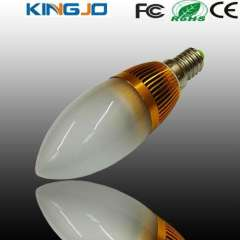 Factory price LED candle lamp with CE\FCC\ROHS