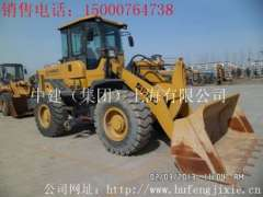 Longyan sale 12 years 9 into a new two tons temporary workers LG920 loaders, used Yuchai 13 digging machine
