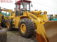 Baoding sale 12 years 9 into a new five tons Liugong ZL50CN loader, used Komatsu excavator 56