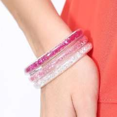 Austria element crystal, 925 silver bracelet Han edition first jewelry decoration fashion bracelets Bangle br70034