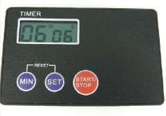 Ultra-thin electronic timer