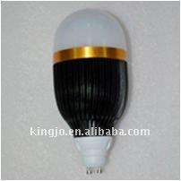 GU10 9W indoor led bulb lamp with black radiator and 3 years warranty