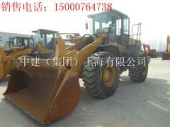 Jiuquan sale 11 August into a new five tons temporary workers LG956L loader, used Hitachi 75 digging machine, cheap