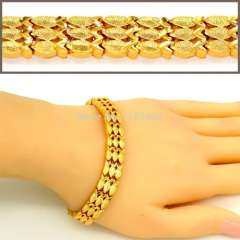 cute fish Bracelets women Fashion Jewelry gifts luxury 18K Real Gold Plated Classic Design Trendy Unisex Chain Bangles B40155
