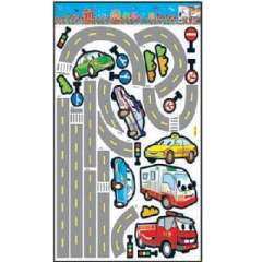 Lido large home fashion wall stickers - road (HL5834)