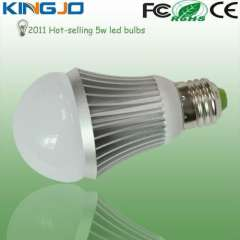 Equal to 40w incandescent lamp 5w led globe bulb