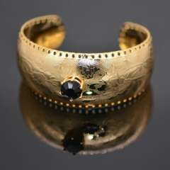 High Quality Vintage Bracelets Fashion Jewelry Gift 18k Real Gold Plated Classic Design Trendy Unisex Bracelets & Bangle br70065