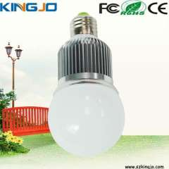 Wide voltage 5w led bulb lamp with high power e27