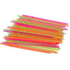 Multi-purpose two-child drinking straws | Color Random