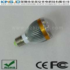 Widely Input Voltage E27 LED Bulbs with 5W Power