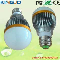 High efficiency A60 E27 7w led bulb light with low price