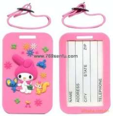 Custom excellent product quality | silicone luggage tag | soft luggage tag / tag | tag luggage tag