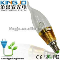 3W Mini Light Led Candle Light Bulb Lighting For Clothing Shop