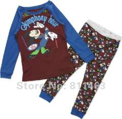 children long sleeve pajamas #JC-684 \kids cartoon clothes \ baby garment \ free shipping