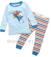 kids cartoon wear #C-074 \ baby long sleeve cotton pajamas \ wholesale \ free shipping