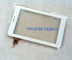 100% original 7inch touch screen touch digitizer touch panel Tablet PC TPC0785 VER4.0 for Ampe A79