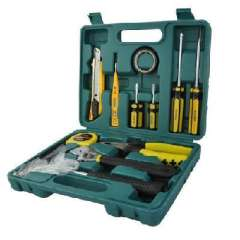 Hardware Tools Kit | 12 Items | household tool combination package