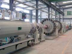 Steel Wire Reinforcing Multi-purpose Plastic Pipe Production Line