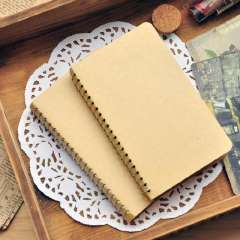 Plain cowhide the coil 4 notepad diary notepad brief vintage