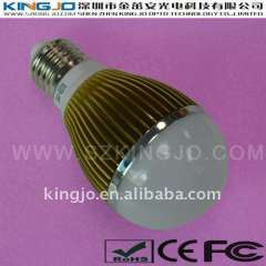 Low Price Low Power 5W LED Bulb with Aluminum Housing