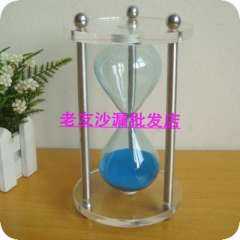Fashion blue acrylic hourglass gift unique wedding gifts decoration wedding gifts