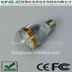 Low Power 5W LED Bulbs with CE FCC RoHS Certified