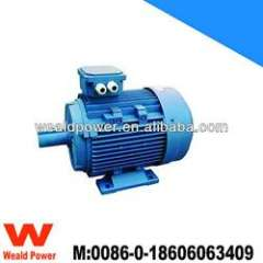 Y2 electric motor, asynchronous induction motor, 0.25HP to 30HP