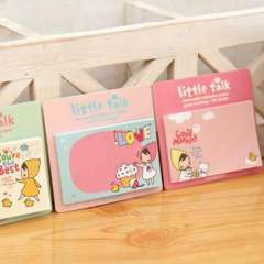Korea stationery cartoon little red riding hood girl memo pad sticky commercial