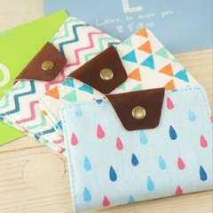 Korea stationery lovely card holder small fresh card holder the bus card case bag storage bag