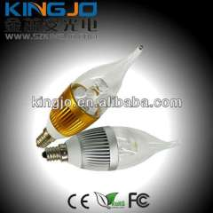 Led Candle Light 3W E12\E14\E26\E27 Mini Light KJ-BL3W-C02