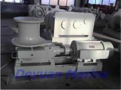 Electric anchor and mooring rope capstan