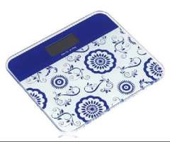 Electronic scales / lady health scale - blue and white | color random