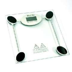 Tempered glass electronic scale / health scales - Square (2008A)