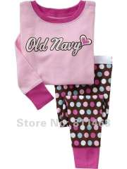 kids long sleeve clothering set # XG-019\ kis clothes \ baby cotton pajamas \ children's wear \ free shippig